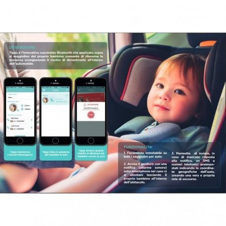 TIPPY SMART PAD Dispositivo Anti Abbandono (Incluso Certificato di Conformità)