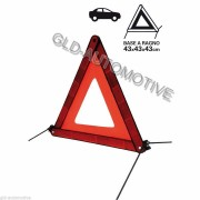 TRIANGOLO DI EMERGENZA Segnalazione stradale PER AUTO MOTO CAMPER KIKSAFE
