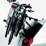 PORTABICI POSTERIORE Auto Cruiser de Lux Per 3 Biciclette Acciaio Nero PERUZZO