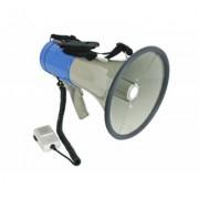 MEGAFONO 25Watt Microfono Palmare Regolazione Volume Sirena Manifestazioni Guide