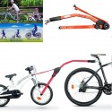 BARRA TRAINO per bici bambino PERUZZO Trail Angel sicurezza bambino PORTABICI